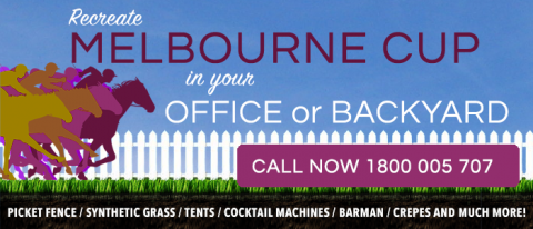 Hire party equipment for Melbourne cup