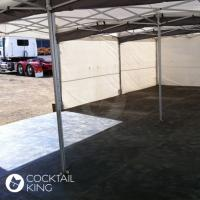 Marquee Flooring | Black Wood Marquee Flooring