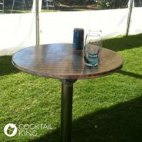 Stainless Steel Bar Table   Table and Chair Hire - Melbourne, Sydney, Adelaide, Brisbane