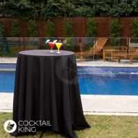 Black Table Cloth   Table and Chair Hire - Melbourne, Sydney, Adelaide, Brisbane
