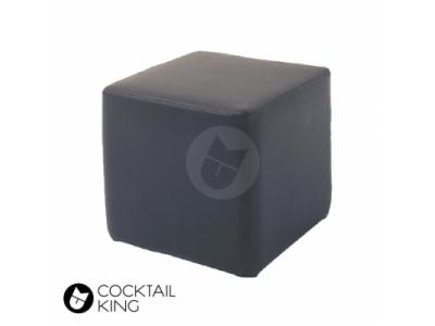 Black Ottoman Cube | Table and Chair Hire - Melbourne, Sydney, Adelaide, Brisbane
