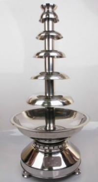 """Commercial Chocolate Fountain - Lightweight  39"""""""