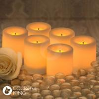 Lighting Hire | Flameless Candles - Large