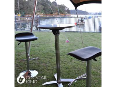 Stainless Steel Bar Table | Table and Chair Hire - Melbourne, Sydney, Adelaide, Brisbane