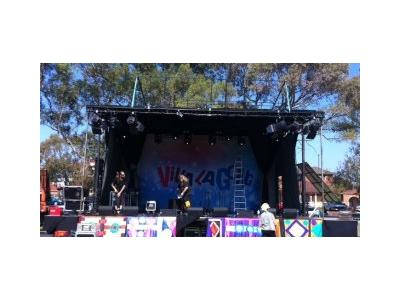Goliath Mobile Stage 9m x 9m |Stage Hire - Melbourne, Sydney, Adelaide, Brisbane